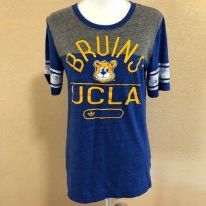 Adidas UCLA | XL Screen Tee Royal Blue & Gray